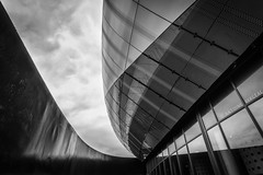 Cite du Vin, Bordeaux (...::: Antman :::...) Tags: citeduvin citduvin bordeaux archi architecture perspective urban noiretblanc blackandwhite city ville btiment building
