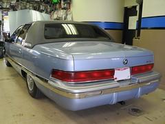 Tinted Windows on Buick Roadmaster (California Custom Sounds) Tags: californiacustomsounds stereoindash buick roadmaster