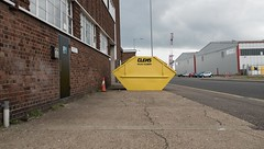 Skip (Number Johnny 5) Tags: skip yarmouth d750 2470mm banal clems great nikon yellow tamron mundane