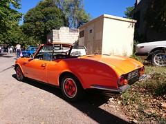 Voitures anciennes  Taradeau: CG 1200S 1970 (DR-044-GJ) (MilanWH) Tags: cg 1200s spider cabriolet chappeetgessalin 1970