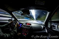 driving in the night (Jon Zazpe) Tags: drive driving car coche noche ciudad nigh city road carretera long exposure larga exposicion ojo de pez 8mm fisheye canon luces light