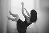 Let it Go (Welcome to imagination) Tags: levitation dreamy black withe blackandwhite softlight nikon d610 50mmf18 monochromatic light hands hand girl tattoo window letitgo selfportrait