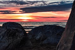 Crosby sunset (melissac18781) Tags: crosbybeach liverpool crosby ironmen antonygormley