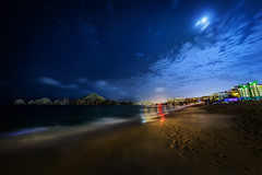 Cabo under Moonlight (Gregg L Cooper) Tags: cabo san lucas moonlight beach night hdr