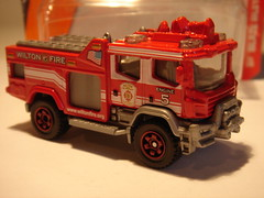 MATCHBOX BLAZE BLITZER GENERIC FIRE ENGINE NO4 WILTON FIRE DEPT. 1/64 (ambassador84 OVER 6 MILLION VIEWS. :-)) Tags: matchbox blazeblitzer fireengine diecast