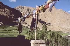 Ladakh 2005 (patrikmloeff) Tags: indien india inde indian indisch asien asia asie asian asiatisch erde earth terre monde welt world ferien urlaub vacances holiday holidays beautiful buddhismus buddhism ladakh analog analogue minolta sommer summer et little tibet travel traveling reise reisen voyage outdoor adventure gebetsfahnen berge mountains montagne himalaya prayerflags