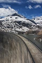 Barrage d'Emosson. Suisse (jjcordier) Tags: barrage emosson valais suisse montagne neige alpes