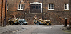 'Dockyard at War' (andrew_@oxford) Tags: chatham historic dockyard salute 1940s ww2 lrgd long range desert group vintage reenactors