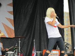 Tonight Alive (StephanieBrunner) Tags: music jenna concert tour band warped vans alive tonight mcdougall stephaniebrunner