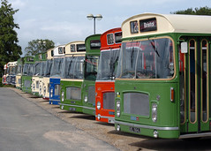 Sea of RE's (BranksomeChine) Tags: friends summer nbc august gloucester westyorkshire 2012 abus ecw busrally royalblue brislington crosville bristolre hantsdorset bristolgreyhound bristolrunningday