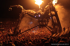 Arcadia at Boomtown Fair 2012 *explored* (Marianne Harris - UK music + portrait photographer) Tags: light party festival canon giant fire spider dj alien crowd fair rave 5d marianne harris dubstep 2012 boomtown marianneharris