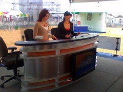 Gayle Guyardo Super Bowl in Tampa
