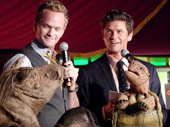 Neil Patrick Harris and David Burtka - Outside...
