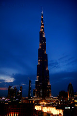 Coming Soon (  ) - explored =D (~   ~) Tags: sunset tower hotel downtown dubai gulf top uae emirates khalifa address burj