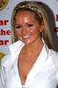 Jennifer Ellison wins the Rear of the Year Award 2008 at the Dorchester Hotel London, England
