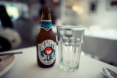 Hitachino Nest Beer (Jon Siegel) Tags: food nikon singapore nest f14 awesome frenchtoast dining 24mm nikkor hitachino breakfastbeer d700 nikkor24mmf14 nikkor24mmf14g