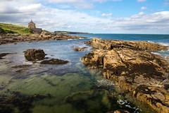 summer at the bath house (Ray Byrne) Tags: sea coast rocks cove northumberland shore northeast howick raybyrne byrneoutcouk webnorthcouk