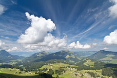 Alpine Pastures (Pauly_G) Tags: summer mountain alps green switzerland alpine sntis stunningskies canoneos7d