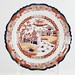 "182. Imari Colored ""Real Iron Stone"" Plate"