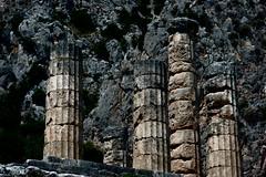 Delphi (Δελφοί) Greece, Aug 2012. 05-142c2 (megumi_manzaki) Tags: archaeology greek ancient delphi greece worldheritage delphoi