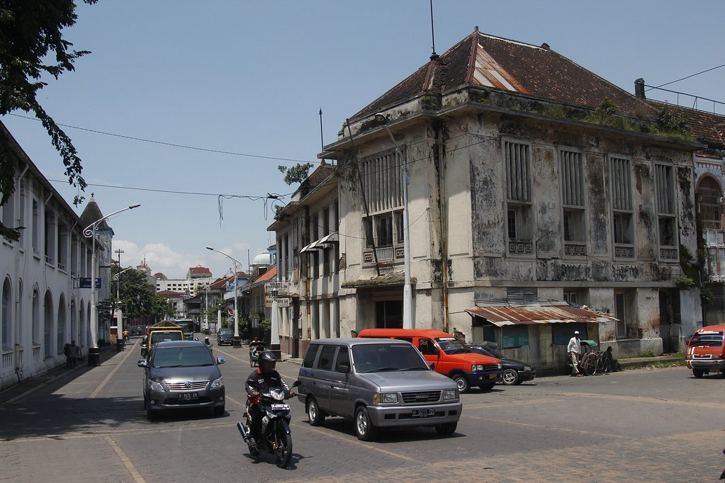 Historic building, Semarang, Central Java, Indonesia