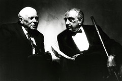 Edward Teller and Andrei Sakarov (llnl photos) Tags: starwars teller nuclearbomb andreisakharov manhattanproject llnl manhattenproject hydrogenbomb edwardteller lawrencelivermore sakarov