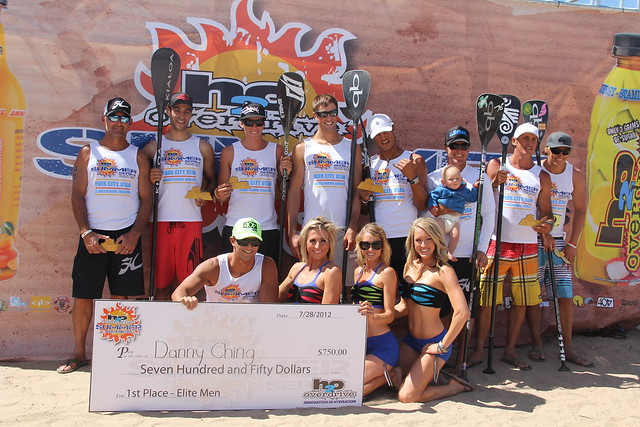 Danny Ching scores a prize check and top honors for the Elite Men