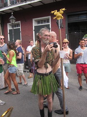 SDecadence 2012 Frog Pole Photographer (Infrogmation) Tags: neworleans frenchquarter decadence southerndecadence