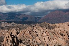 Quebrada de las flechas (Alex Treadway) Tags: sky cloud mountain nature argentina day nopeople na scenics salta mountainrange tranquilscene ruralscene nonurbanscene extremeterrain physicalgeography