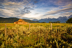 Big Sky - Wyoming (Jackpicks) Tags: sky mountains clouds dawn wyoming grandtetonnationalpark topshots moultonbarn platinumheartaward mygearandme mygearandmepremium mygearandmebronze ringexcellence dblringexcellence gpsetest