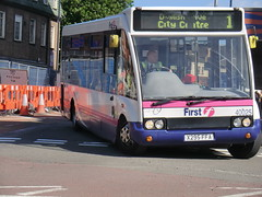 First PMT 40025 (chris 40142) Tags: 1 first solo hanley pmt optare 40025 x295ffa