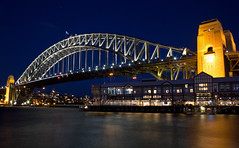 Sebel Pier One Hotel and Sydney Harbour Bridge (on the water photography) Tags: sydney therocks pierone sydneyharbourbridge sebelpierone sebel