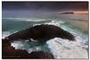 Fishing off the rocks (danishpm) Tags: sunrise canon australia wideangle nsw aus 1020mm sigmalens eos450d fingalheads 450d tweedarea