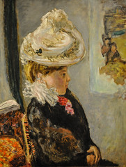 Pierre Bonnard - Woman in a White Hat, 1908 at the Museum of Art Philadelphia PA (mbell1975) Tags: portrait woman white art philadelphia hat museum painting french us gallery museu unitedstates pennsylvania pierre fine arts musée musee m pa impressionism museo impression impressionist muzeum 1908 bonnard müze museumuseum