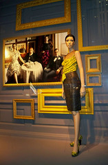 Saks: Framed, Yellow (night) (Viridia) Tags: nyc newyorkcity urban newyork mannequin fashion frames mannequins dress manhattan nightshoot dresses fifthavenue saksfifthavenue saks storewindows newyorkny summerfall windowdisplays newyorkcityny 5thavenuenyc sakscompany midtownnyc patcleveland saksfifthavenuewindows rootsteinmannequins saksfifthavenuewindowdisplay saksfifthavenueflagshipstore saksfifthavenuewindowdisplays