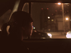 Shanghai by taxi (Martin Bengtsson) Tags: china woman window night vintage shanghai martin cab taxi retro bengtsson