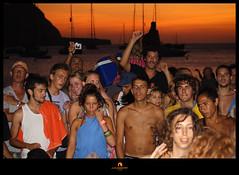 Atardecer en la playa de Benirrás (Ibiza) (Juan Juanatey) Tags: sunset beach atardecer playa ibiza benirrás