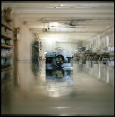 (Ansel Olson) Tags: color colour building 6x6 tlr film rolleiflex zeiss canon mediumformat studio table office exposure kodak steel double ft medium format portra marvin lang stainless automat twinlensreflex 160 tessar opton 55mmf12 75mmf35 autaut