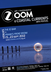 ZOOM (Stoff74) Tags: uk light sea england moon lightpainting art beach festival bar ball painting person photography graffiti pier model photographie zoom lumire flash feel perspective banksy orb playa exhibition sparklers huts cc hut coastal lumiere montage eastbourne hastings orbe jd sparkler orbs plage boule currents graffitis