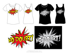 No Doubt logo design (de-tec-tive) Tags: logo comic cartoon competition pow vote nodoubt gwenstefani tonykanal tomdumont adrianyoung talenthouse