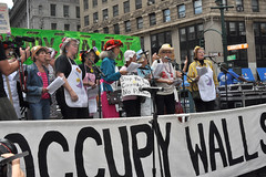 grannies (greenelent) Tags: nyc people streets nikon protest streetphotography photoaday 365 raginggrannies nycstreets ows occupy occupywallst