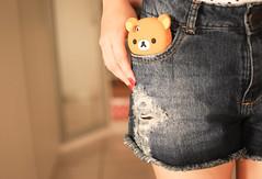 rilakkuma phone  (Natlia Viana) Tags: cute sweet urso kawai rilakkuma ursinho natliaviana rilakkumphone