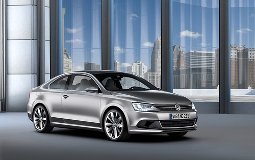 World premiere of the new VW Compact Coupe