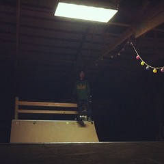 "nightly regimen #skateeverydamnday #barn #halfpipe • <a style=""font-size:0.8em;"" href=""http://www.flickr.com/photos/99295536@N00/8003284016/"" target=""_blank"">View on Flickr</a>"