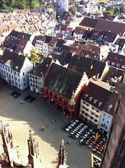 Muensterplatz from above