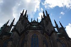 St. Vitus's Cathedral (dorochina) Tags: city castle church st europe republic czech prague cathedral gothic royal mala vitus strana