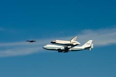 Final flight of Shuttle Endeavour (morozgrafix) Tags: sanfrancisco california unitedstates space flight nasa shuttle boeing endeavour nikond7000 nikon70200mmf28gvrii sfendeavour2012