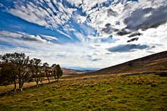 The Highlands (RossElder) Tags: pictures blue trees 2 sky cloud sun colour building tree nature grass clouds canon photography photo highlands warm natural cloudy photos pics mark country hill picture naturallight sunny bluesky pic hills highland croft 5d colourful naturallighting 5dmark2 canon5dii