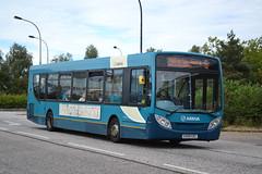 Arriva Shires & Essex 3574 KX09GZC (Will Swain) Tags: bus buses station central milton keynes essex arriva shires 3574 kx09gzc