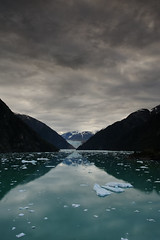 Overcast Tracy Arm (crisbirch) Tags: cruise sky ice alaska nikon arm cruising tracy inner glacier fjord sawyer passage insidepassage fiord tracyarm d700 nikon2035mmf28